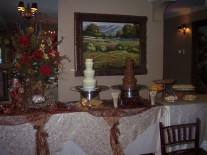double chocolate fountain package