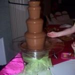 27 inch chocolate fountain