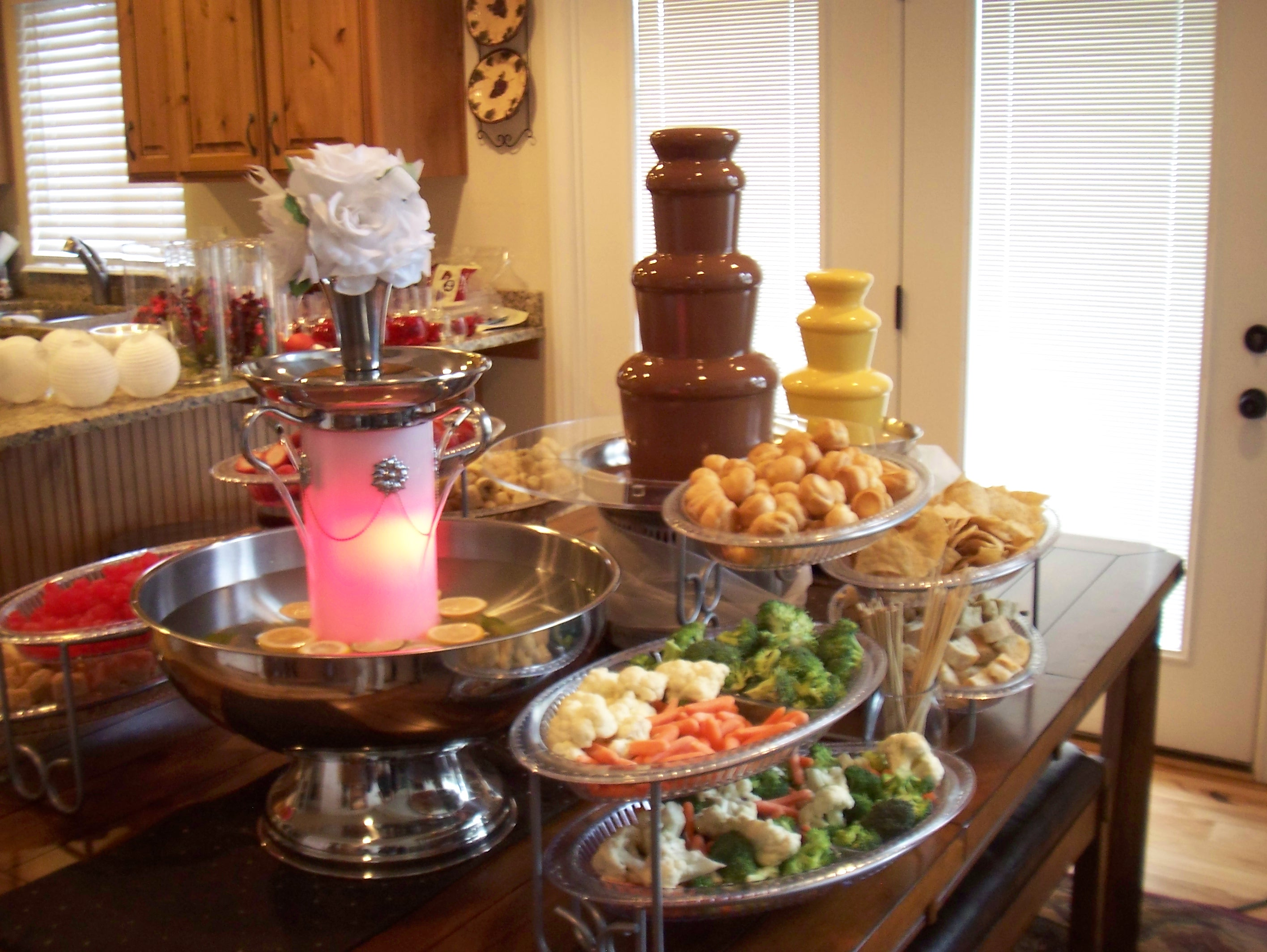 how to use chocolate fountain at home
