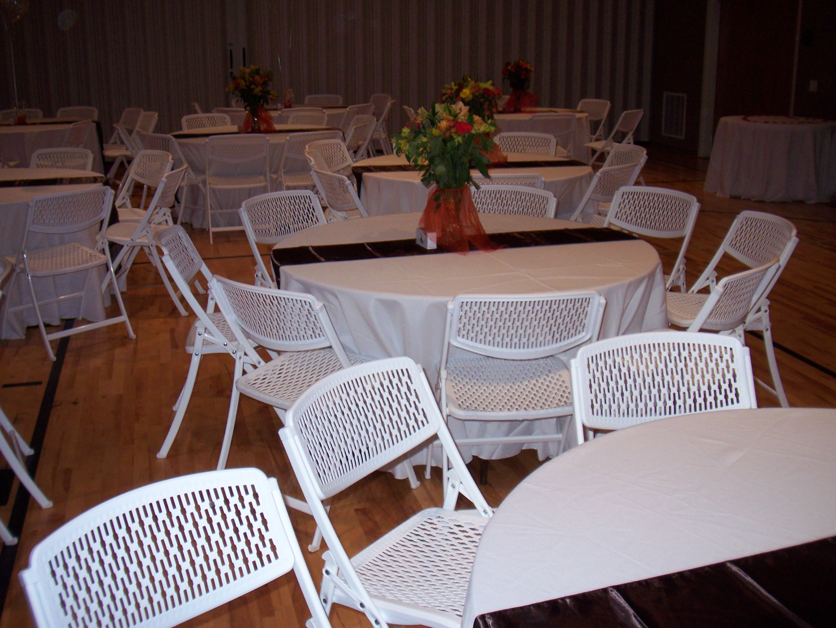 Utah table and chair rental for Table and chair rentals