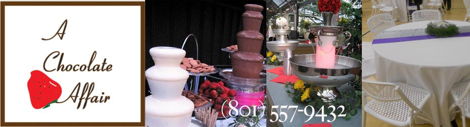 Utah Chocolate Fountains | A Chocolate Affair