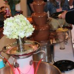 Perfect Utah County Wedding chocolate fountain