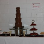 chocolate fountain in West Jordan