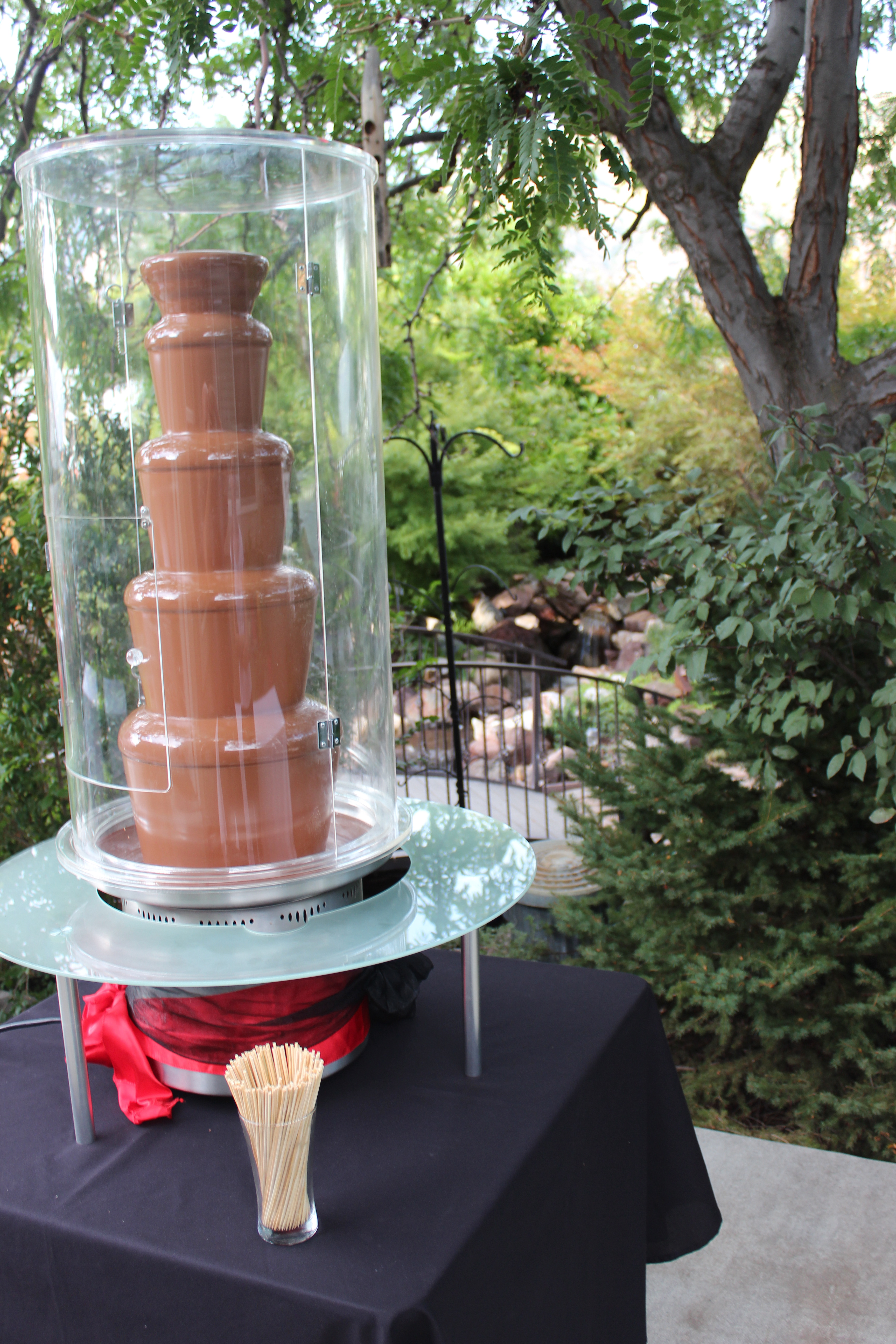 Chocolate Fountains under the weather | Utah Chocolate Fountains ...