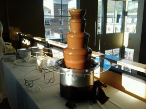 Park City Mountain Resort chocolate fountain