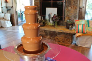 chocolate fountain rental in Utah
